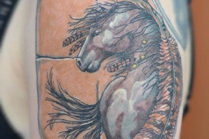 Конь и перо