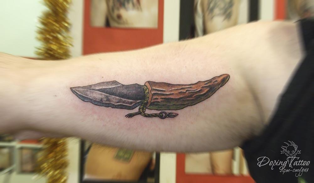 Обсидиановый нож