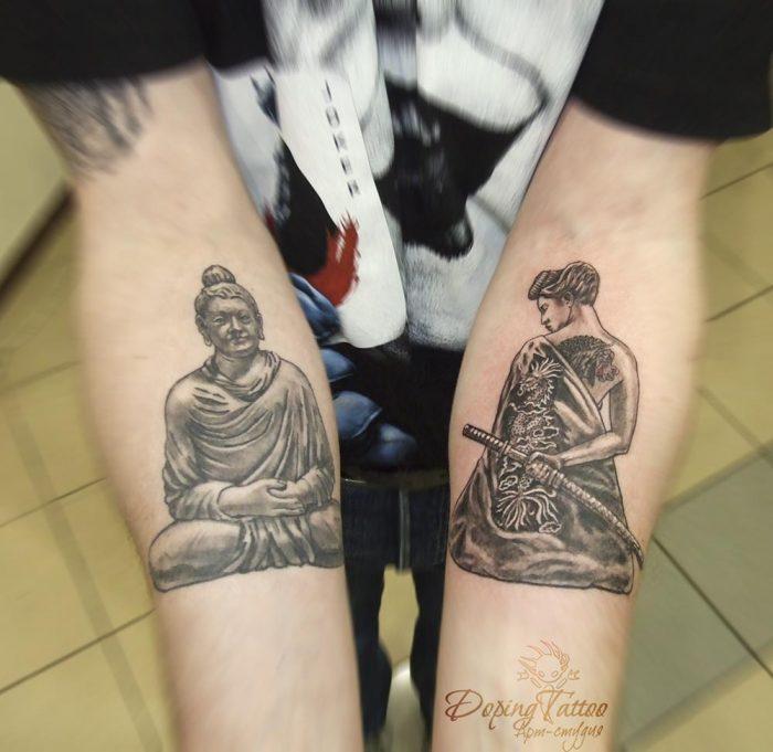 Будда и Небудда)