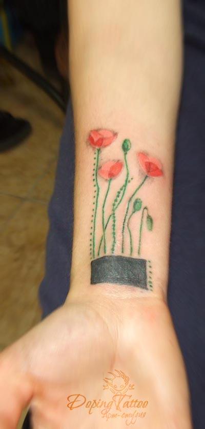 Цветы (эскиз не мой)