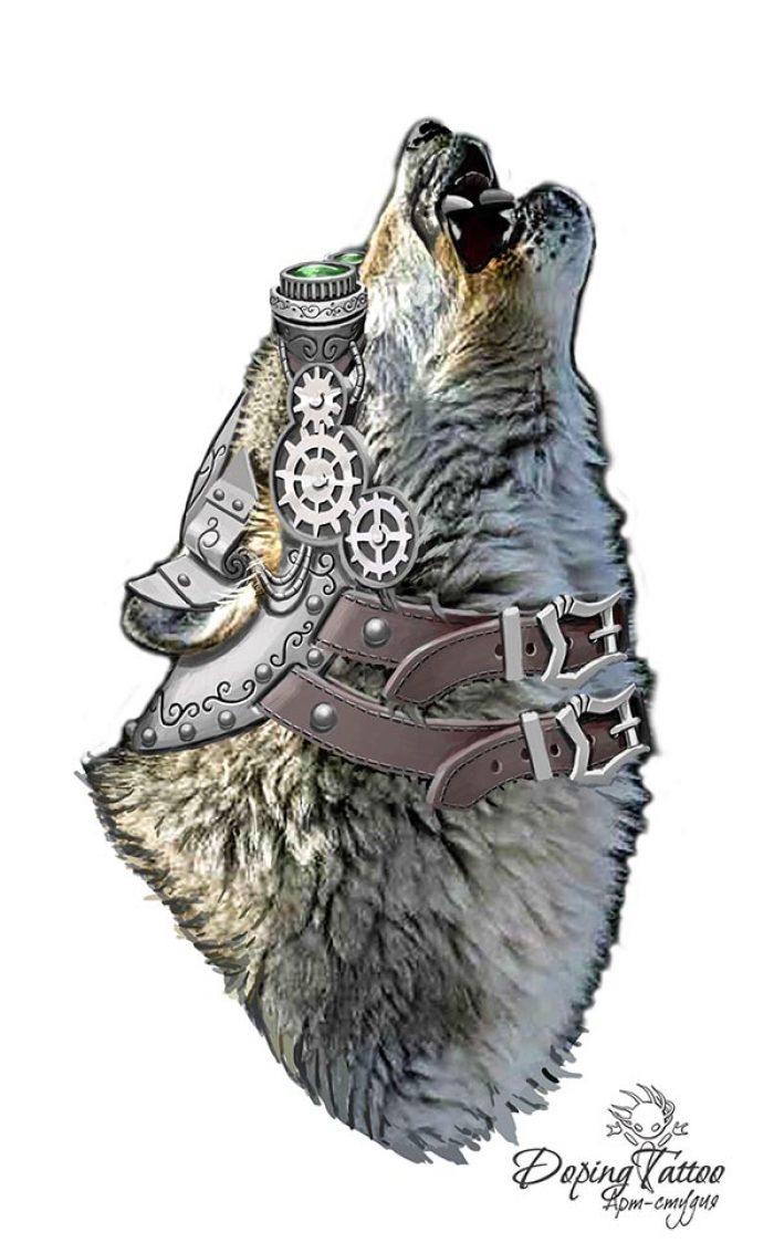 Волк и стимпанк